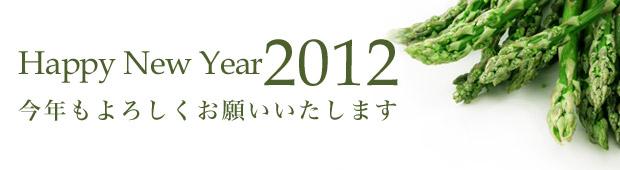 Happy New Year 2012 今年もよろしくお願いいたします。